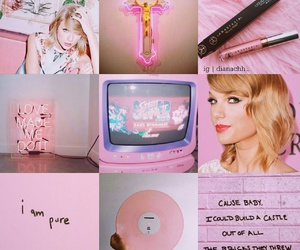 moodboard, pink, and Taylor Swift image