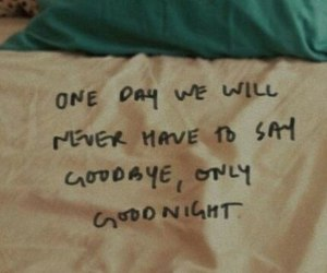 bed, goodnight, and goodbye image