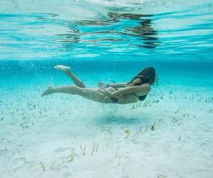 girl, summer, and swim image