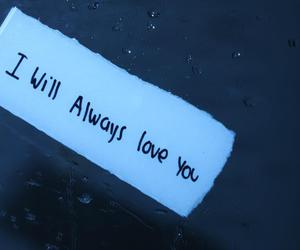 i will always love you, love you, and love image