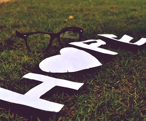 hope, glasses, and heart image