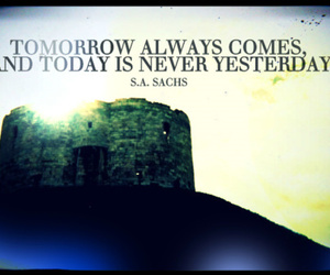 castle, photography, and quotes image