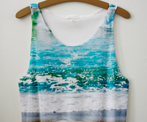summer, beach, and shirt image
