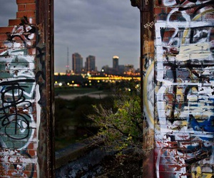 city, graffiti, and photography image