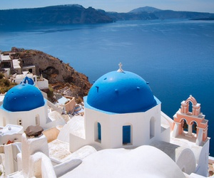 blue, sea, and Greece image