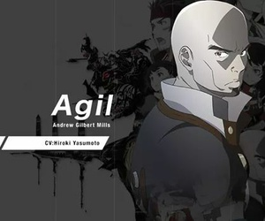 anime, sword art online, and agil image