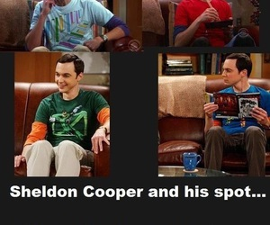 funny and sheldon cooper image