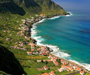 acores, mountain, and paradise image