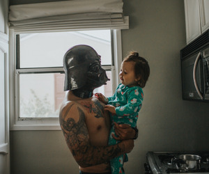 baby and star wars image