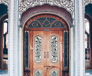door, travel, and architecture image