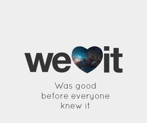 we heart it, quote, and heart image