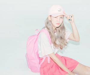 pink, かわいい, and オルチャン image