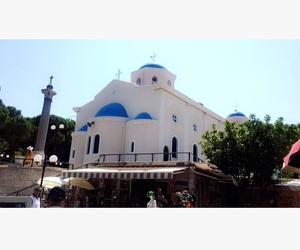 beautiful, Greece, and church image