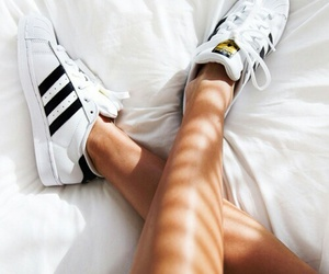 addidas, black, and shoes image