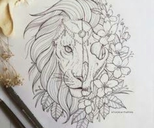 tattoo lion image
