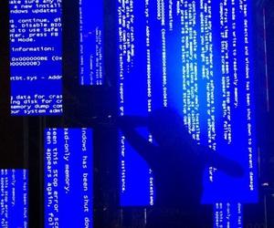 blue, art, and dark image