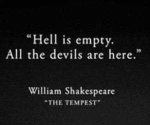 Devil, hell, and empty image