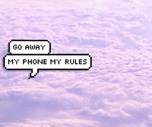 wallpaper, phone, and clouds image