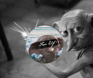 harry potter, dobby, and free elf image