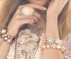 fashion, ring, and bracelet image
