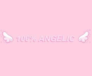 angelic, kawaii, and pink image
