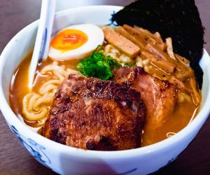 food, ramen, and hungry image