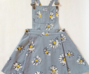daisy, dress, and style image