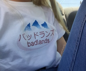 badlands, halsey, and aesthetic image