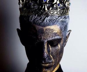 crown, fantasy, and king image