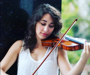Dream, violin, and girl image