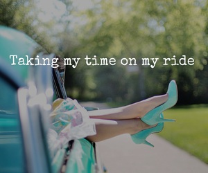 car, quotes, and ride image