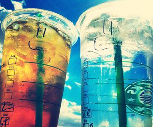 cold, drink, and starbucks image