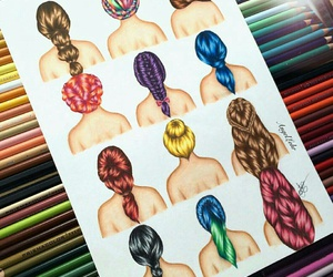 cheveux, perfect, and haïr image