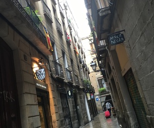old, street, and Barcelona image