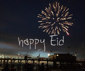 happy eid, عيد سعيد, and رَمَضَان image
