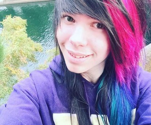 dyed hair, alternative hair, and emo guys image