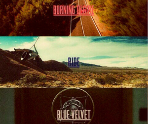 lana del rey, ride, and Blue Velvet image
