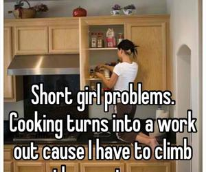 short, girl, and problem image