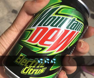 girl, mountain dew, and tumblr image