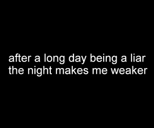 day, liar, and night image