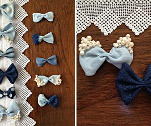 bow, diy, and fashion image