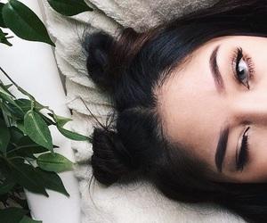 eyes, hair, and eyebrows image
