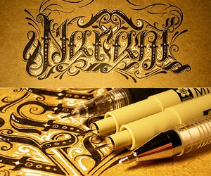 pens and typography image