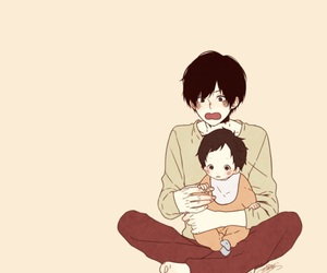 anime, baby, and cute image