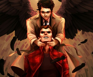 dean winchester, fanart, and spn image