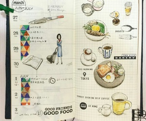 beautiful, diary, and drinks image