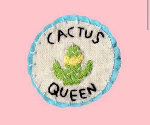 cactus, pale, and pink image