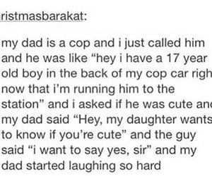 funny, dad, and cute image