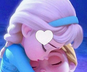 disney, frozen, and love image