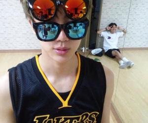 jin, kpop, and sunglasses image